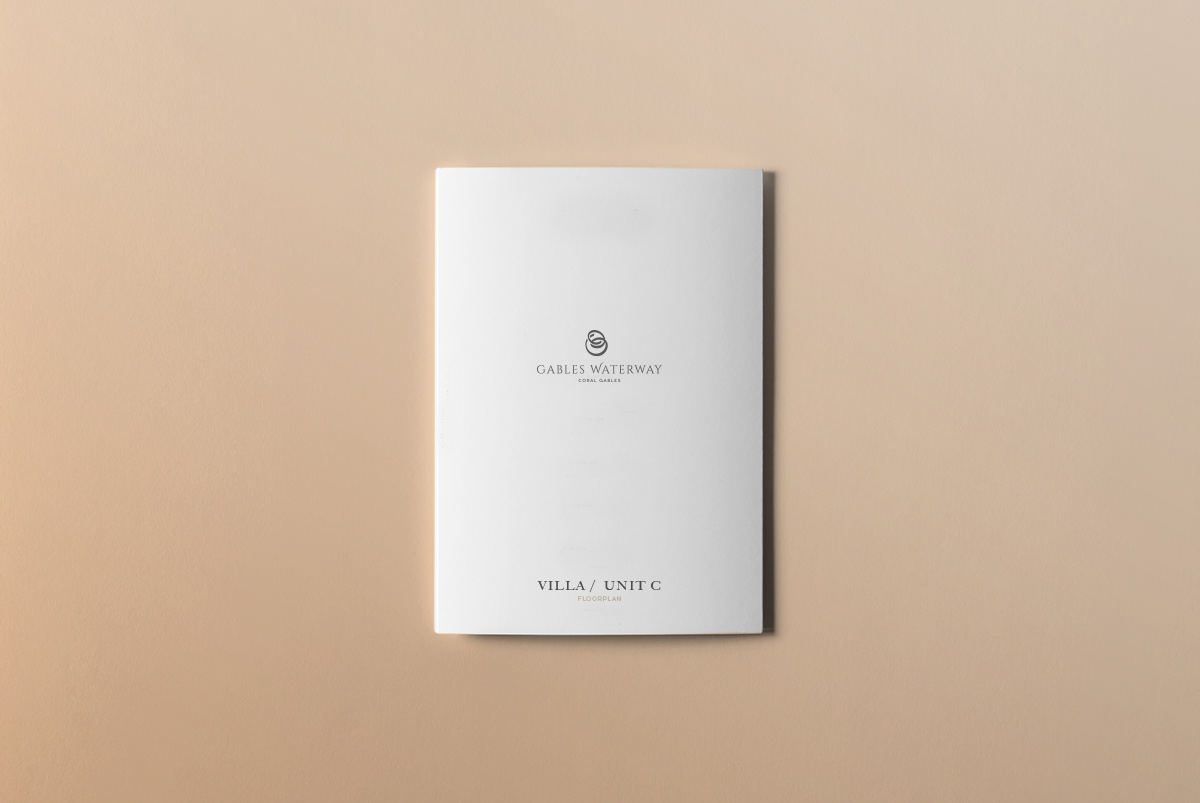 Gables Waterway Pamphlet Design